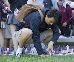 Special Assembly Pays Tribute to 9/11 Tragedy