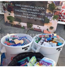 Partnership with CHF Aids Hurricane Victims
