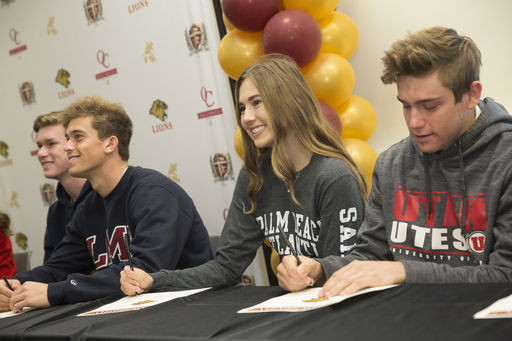 Athletes Celebrated at National Signing Day