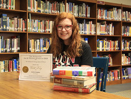 Student Wins National Writing Award