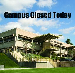 Campus Closed Monday Nov. 12