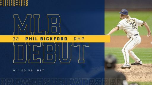Alum Phil Bickford Makes MLB Debut