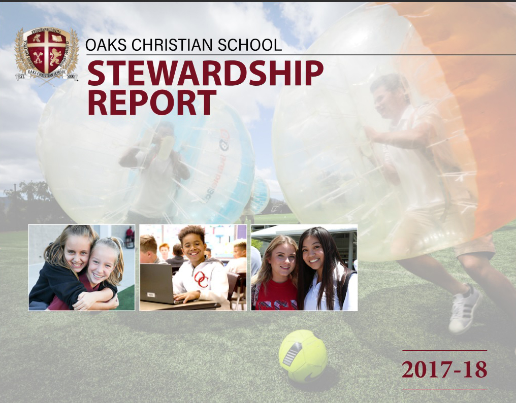 Stewardship Report Honors Donors